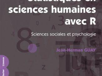 Statistiques en sciences humaines avec R